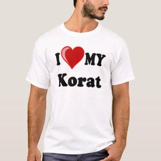 I Love (Heart) My Korat Cat T-Shirt