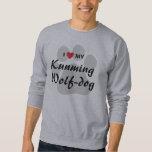 I Love (Heart) My Kunming Wolf-Dog Lovers Shirt