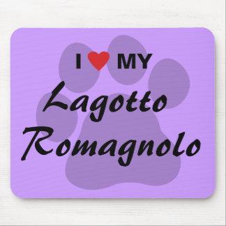 I Love Heart My Lagotto Romagnolo Mousepad