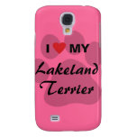 I Love (Heart) My Lakeland Terrier Galaxy S4 Cover