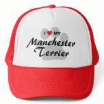 I Love (Heart) My Manchester Terrier Trucker Hat