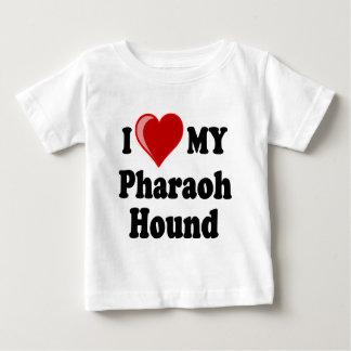 I Love (Heart) My Pharaoh Hound Dog Baby T-Shirt