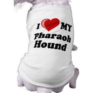 I Love (Heart) My Pharaoh Hound Dog Doggie T-shirt