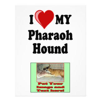 I Love (Heart) My Pharaoh Hound Dog Flyer