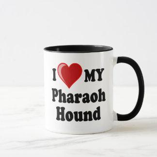 I Love (Heart) My Pharaoh Hound Dog Mug