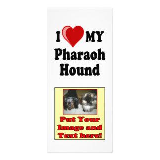 I Love (Heart) My Pharaoh Hound Dog Rack Card