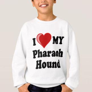 I Love (Heart) My Pharaoh Hound Dog Sweatshirt