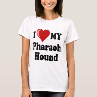 I Love (Heart) My Pharaoh Hound Dog T-Shirt