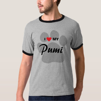 I Love (Heart) My Pumi T-Shirt