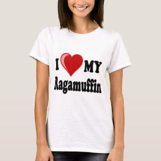 I Love (Heart) My Ragamuffin Cat T-Shirt