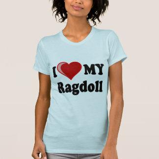 I love my ragdoll cat shirt