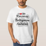 I Love (Heart) My Ratonero Bodeguero Andaluz T-Shirt