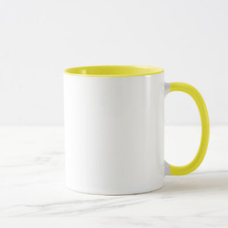 I Love (Heart) My Rough Collie Pawprint Mug