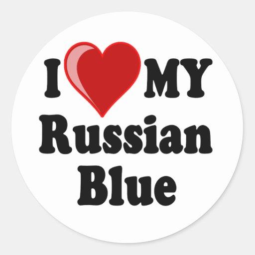 Customizable Love My Russian Blue 76
