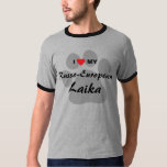 I Love (Heart) My Russo-European Laika T-Shirt