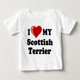 I Love (Heart) My Scottish Terrier Dog Gifts Tee Shirt