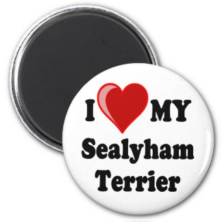 I Love (Heart) My Sealyham Terrier Dog Gifts Magnet