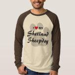 I Love (Heart) My Shetland Sheepdog T-Shirt