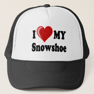 I Love (Heart) My Snowshoe Cat Trucker Hat