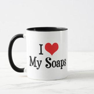 I Love Heart My Soaps - Soap Opera Lover Mug