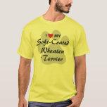 I Love (Heart) My Soft-Coated Wheaten Terrier T-Shirt