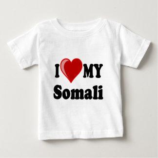 I Love (Heart) My Somali Cat Baby T-Shirt