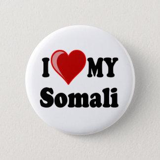 I Love (Heart) My Somali Cat Pinback Button