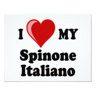 I Love (Heart) My Spinone Italiano Dog Card