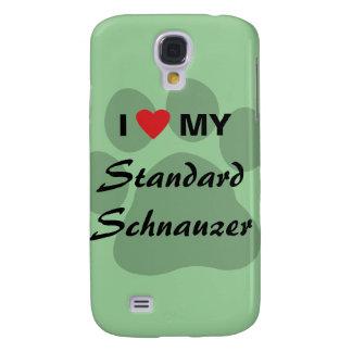 I Love (Heart) My Standard Schnauzer Samsung S4 Case
