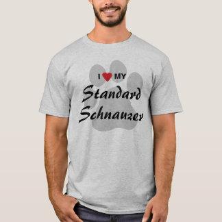 I Love (Heart) My Standard Schnauzer T-Shirt