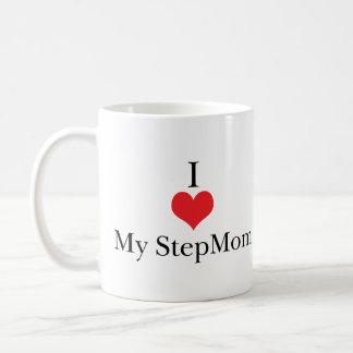 I Love (Heart) My StepMom Coffee Mug