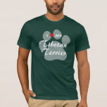 I Love (Heart) My Tibetan Terrier T-Shirt