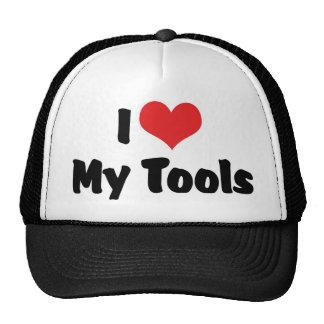 I Love Heart My Tools - Handyman Craftsman Builder Trucker Hat