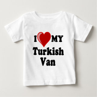 I Love (Heart) My Turkish Van Cat Baby T-Shirt