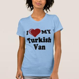 I Love (Heart) My Turkish Van Cat T-Shirt