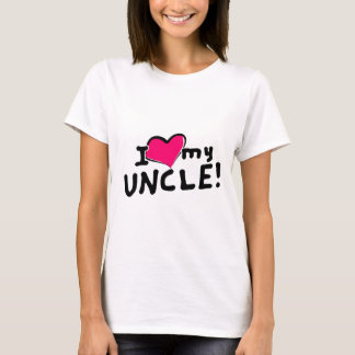 I love (heart) my uncle! T-Shirt