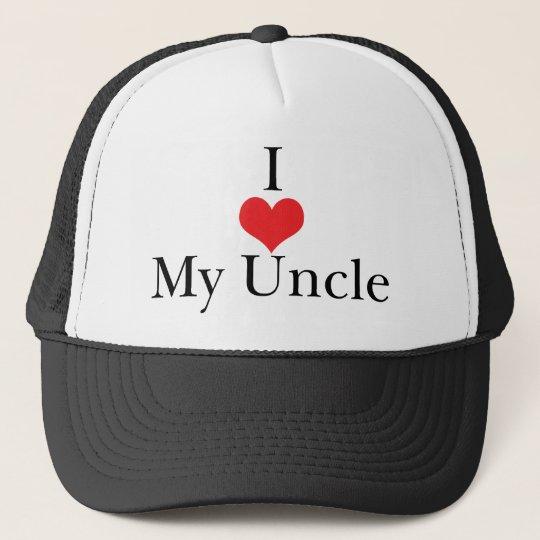 I Love (Heart) My Uncle Trucker Hat