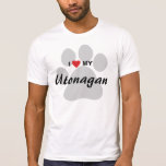 I Love (Heart) My Utonagan T-Shirt
