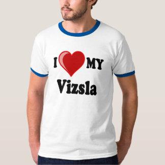 I Love (Heart) My Vizsla Dog T-Shirt