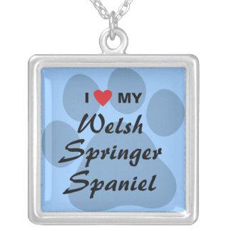 I Love (Heart) My Welsh Springer Spaniel Jewelry
