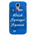 I Love (Heart) My Welsh Springer Spaniel Samsung Galaxy S4 Case