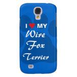 I Love (Heart) My Wire Fox Terrier Samsung S4 Case