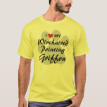 I Love (Heart) My Wirehaired Pointing Griffon T-Shirt