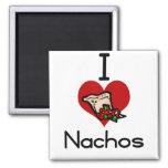 I love-heart nacho fridge magnets