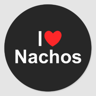 I Love (Heart) Nachos Sticker