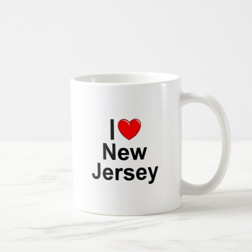 I Love (Heart) New Jersey Classic White Coffee Mug
