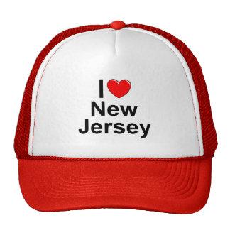 I Love (Heart) New Jersey Trucker Hat