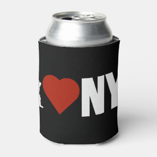 I Love Heart New York Can Cooler