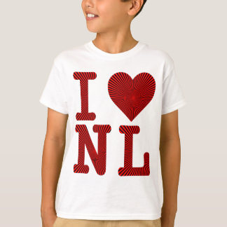 I LOVE HEART NL T-Shirt