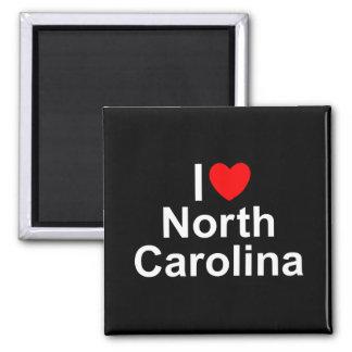 I Love (Heart) North Carolina Refrigerator Magnet